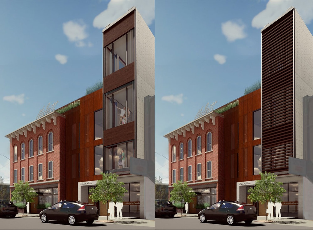 Hulett Hotel - Commercial Architect Cleveland at redhouse studio