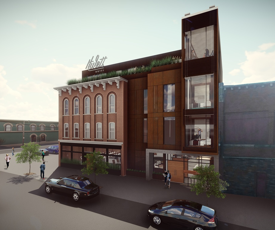 Hulett Hotel - Commercial Architect Cleveland OH at redhouse studio