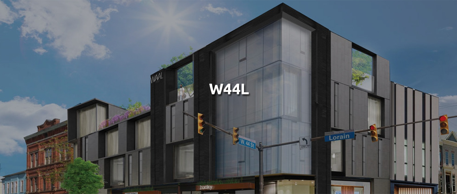 W44L - Commercial Building Architecture Cleveland by redhouse studio
