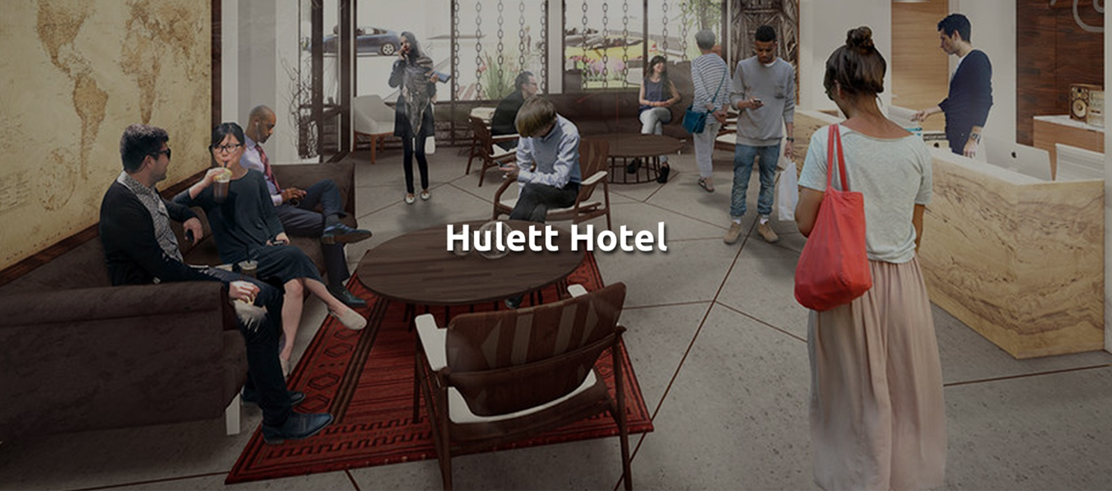 Hulett Hotel - Commercial Building Architecture Cleveland by redhouse studio