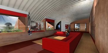 Bioshelter Dignified Interior by redhouse studio - Humanitarian Architecture Firm Ohio