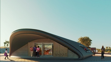 bioFAB still by redhouse studio - Humanitarian Architecture Firm Cleveland